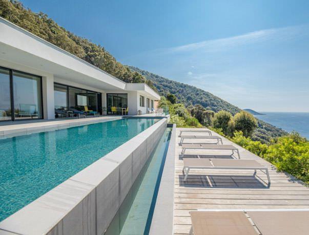 villa terra mare corsica