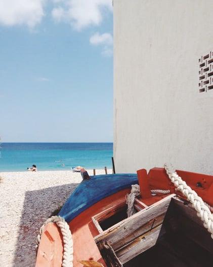 boat holiday Paros