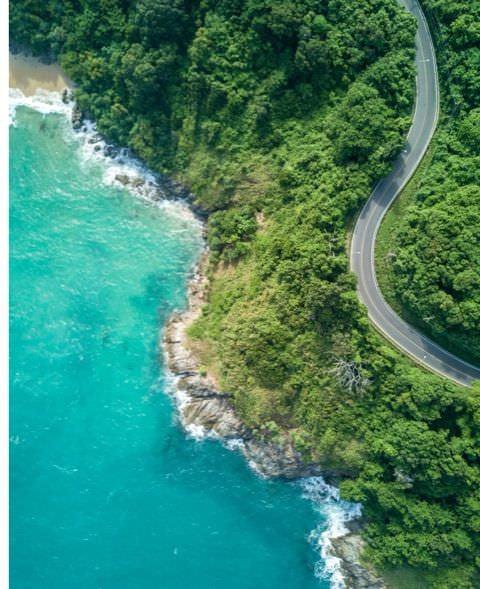 cannes st tropez coast road