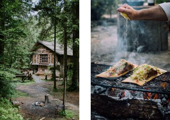 barbecue Bavella Corsica family holidays