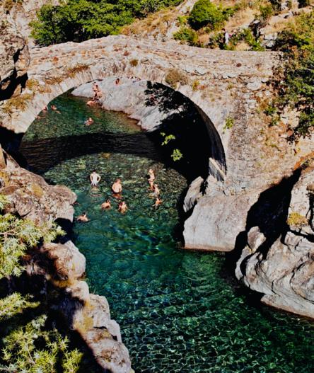 natural swimming corsica