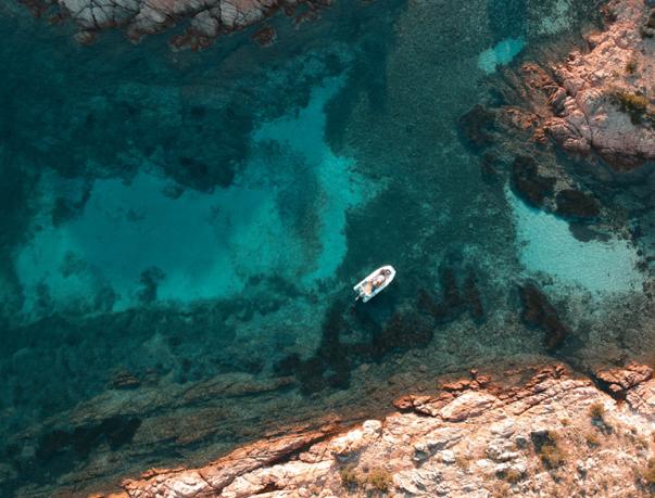 boat trip sardinia