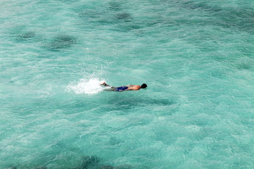 Plage-palombaggia-corse-snorkeling