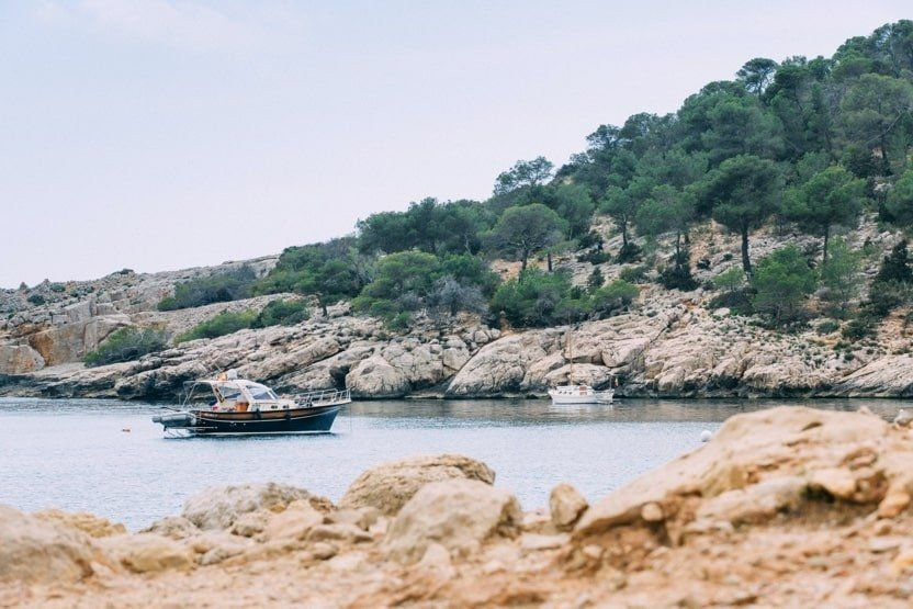 A list of our favourite restaurants in Cala Salada, Ibiza