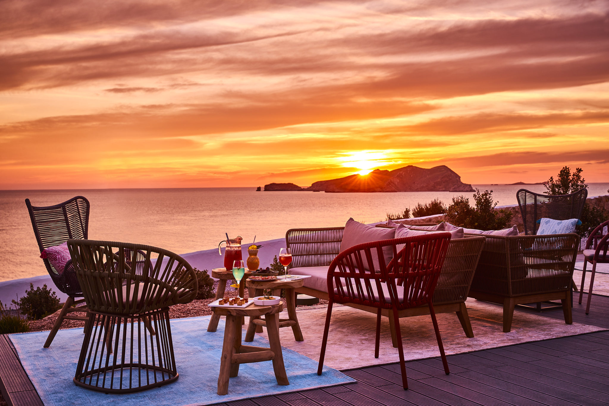 In search of the best sunset restaurant Ibiza has to offer