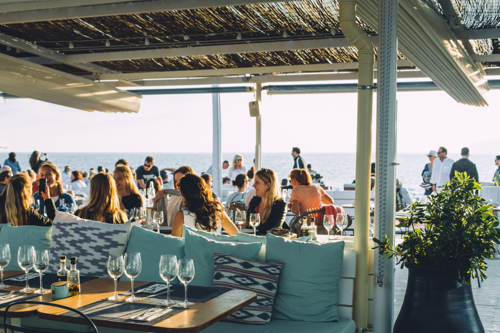 The Crush: Experimental Beach, Ibiza's spot for those in the know