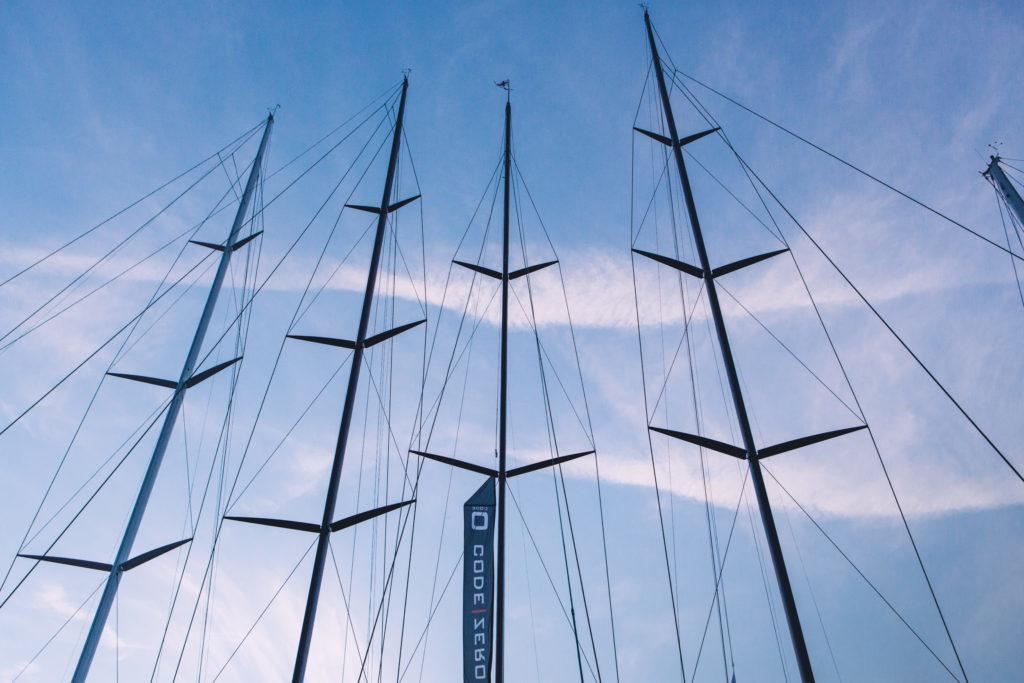 Les Voiles de Saint Tropez Masts