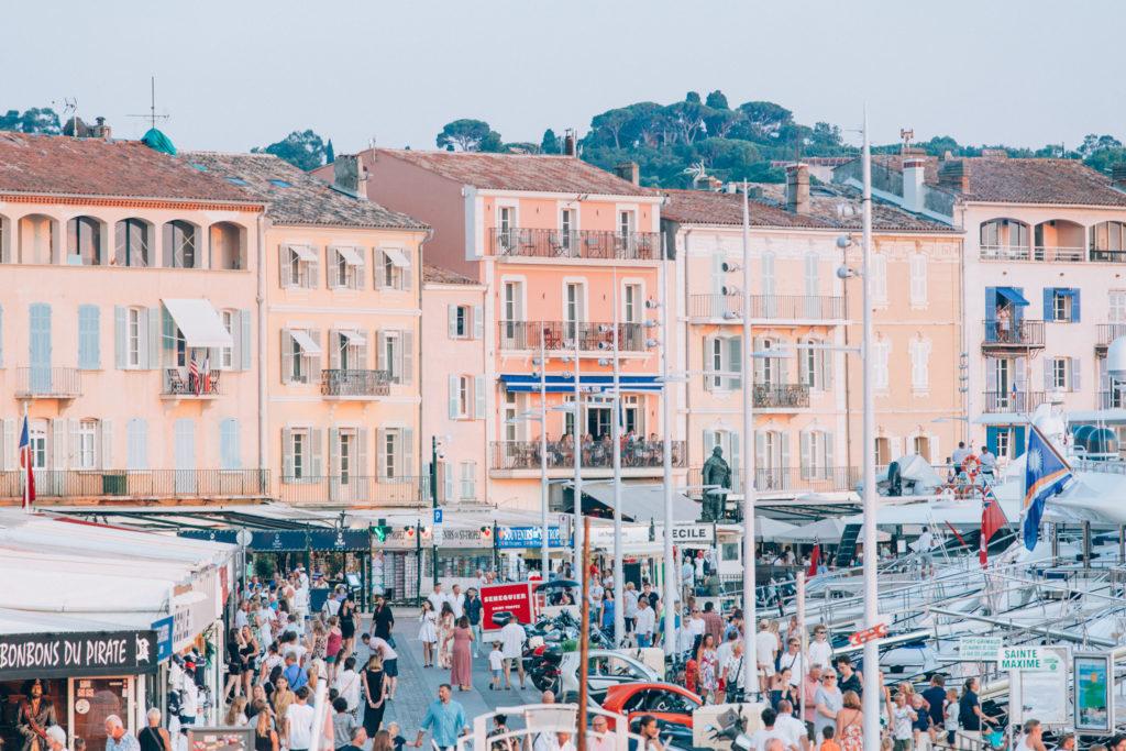 Les Voiles de Saint Tropez Port