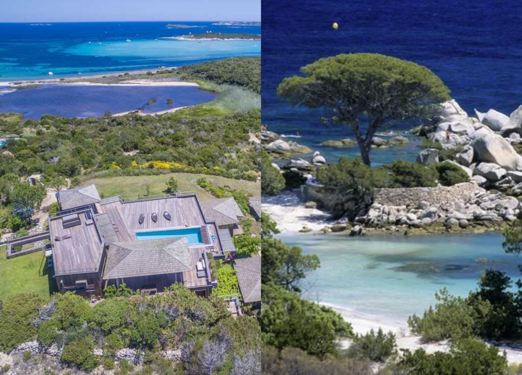 Rental Corsica villas near beach spots Piantarella