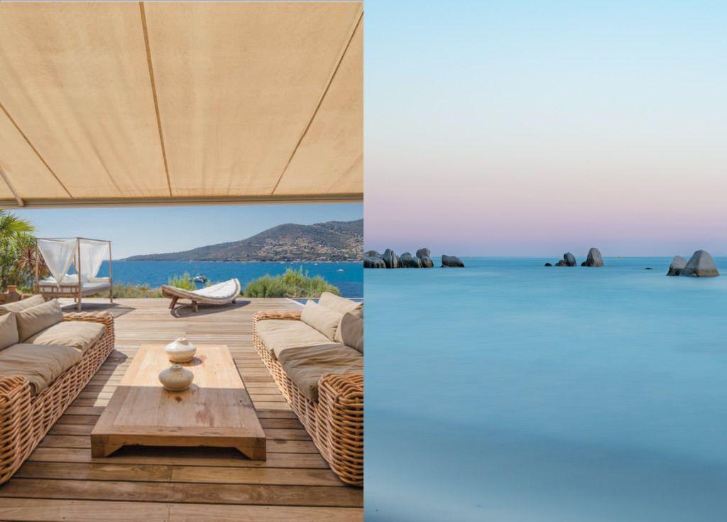 Rental Corsica villas near beach spots Ajaccio