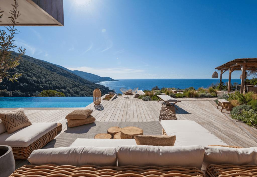 Maisons Corse vue
