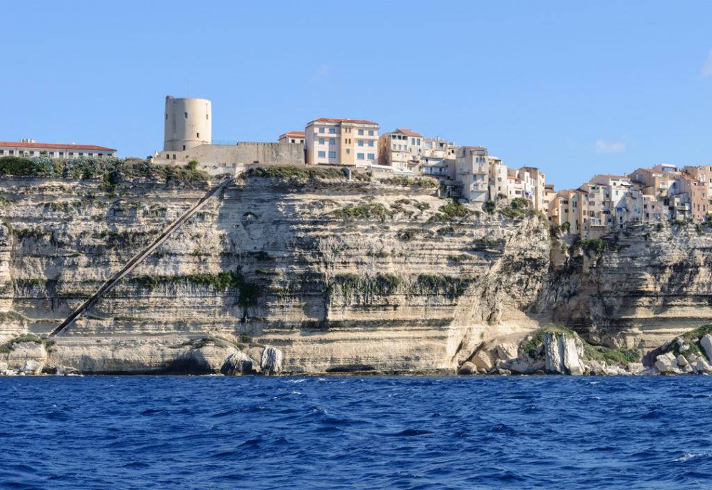 vacances en Corse Escalier du roi d'Aragon