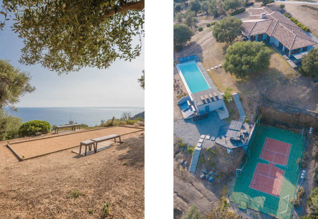 Villa Sunshine - petanque court, tennis court