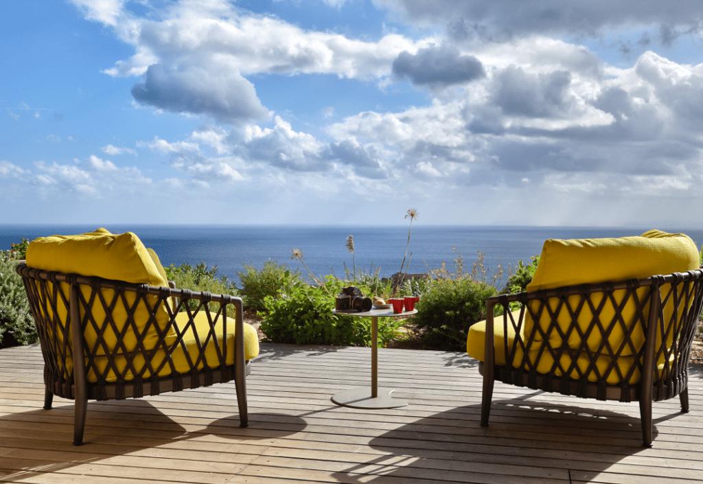 Locations maisons Corse Laella vue