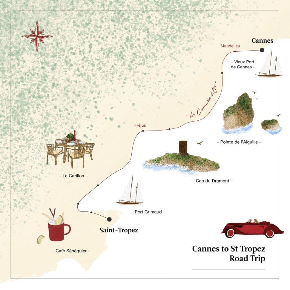 carte roadtrip