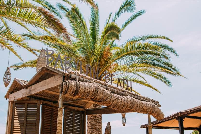 Un après-midi détente au Babylon Beach à Ibiza