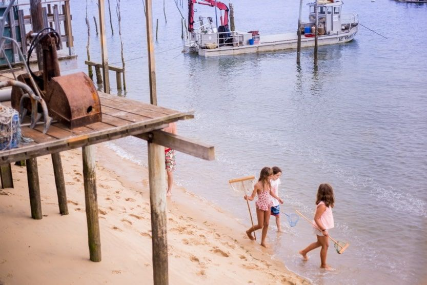 Top 9 activities for a Cap Ferret family holiday