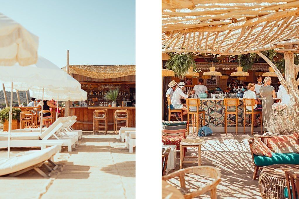 A list of the iconic beach bars of Saint Tropez